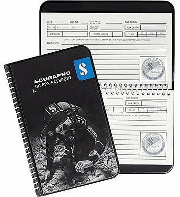 ScubaPro Water Proof Pages Divers Log Book