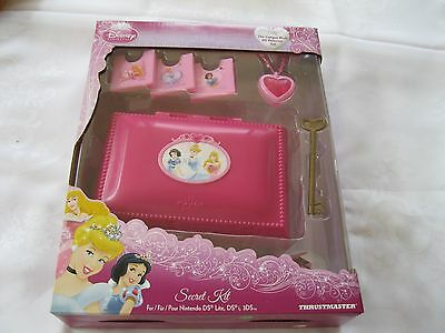 DISNEY SECRET PRINCESS KIT CASE  FOR NINTENDO DSi, DS LITE, 3DS - BRAND NEW