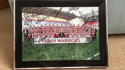 Wigan Warriors Signed Picture
