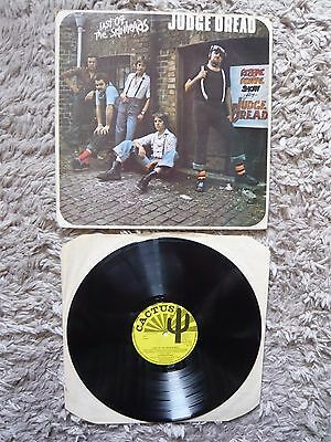 Judge Dread Last Of The Skinheads UK 1976 1st Press Cactus Vinyl LP Reggae Ska