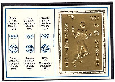 Olympics 1972 Cover