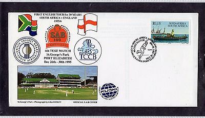 Cricket Cover 1995 South Africa v England 4th Test