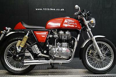 63 Royal Enfield Continental Gt Sport Pack 3,800 Miles