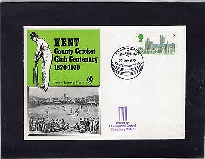Cricket Cover 1970 Kent Centenary