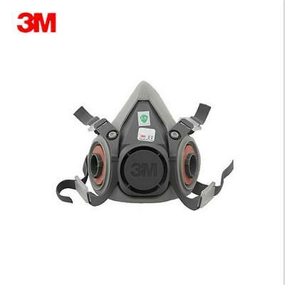 New Dust Mask Half face Respirator Spray Painting For 3M 6200 With 2901 Filters