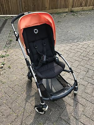 Bugaboo Bee Plus Blue Pushchair/ Stroller With Accessories