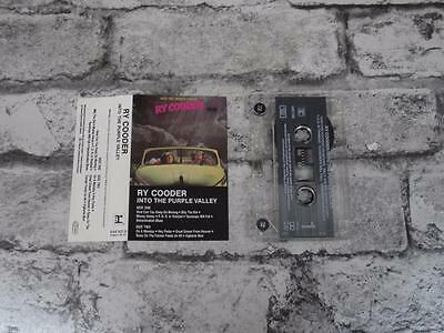 RY COODER - Into The Purple Valley / Cassette Album Tape / 4288