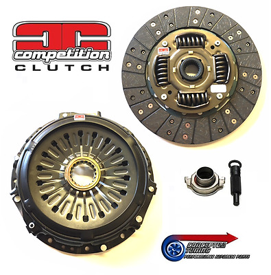 Stage 2 Organic Uprated Competition Clutch - For Mitsubishi EVO VIII 8 CT9A 4G63