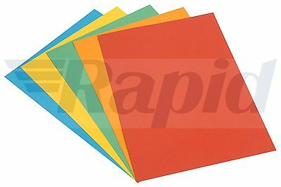 A4 Assorted Bright Coloured Card 160gsm Pack of 30