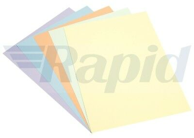 A3 Assorted Pastel Coloured Card 220gsm Pack of 30