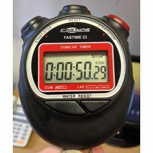 Fastime Fastime 23- Stopwatches- Black/Red