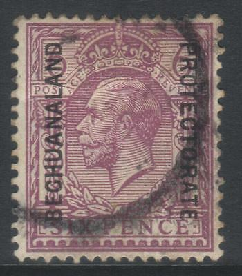 Bechuanaland 1913-1924 Optd Sg81 Used Cat £28