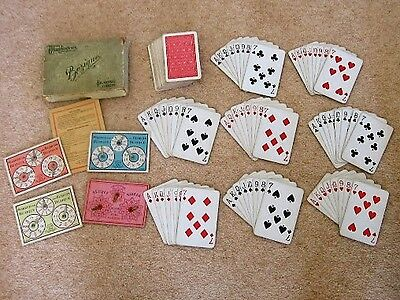 Vintage Card Game Bezique from Waddingtons