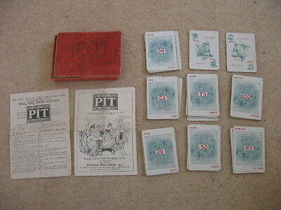 Pit Card Game Vintage Edition By Parker Brothers Bull And Bear Edition 1904