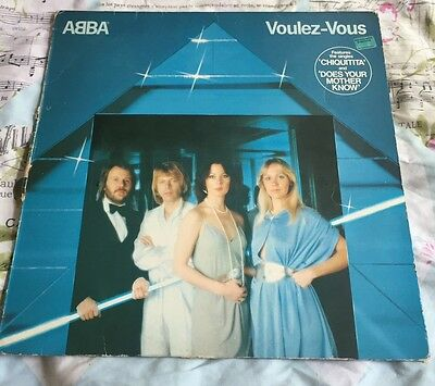 Abba Vinyl Records