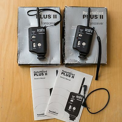 PocketWizard PLUS II Transceiver x 2