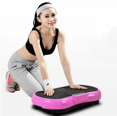 500W Crazy Fitness Machine Massager Vibration Plate Exercise Platform Home Lady