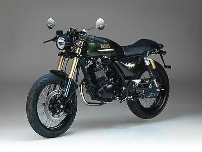 Bullit Spirit Cafe Racer 125cc Cafe Racer Spirit learner legal motorcycle