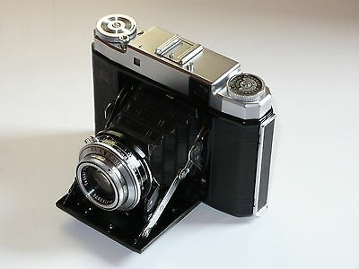 Zeiss Ikon Super Ikonta 531/16. Synchro Compur. Coated Tessar. Erc Film Tested.
