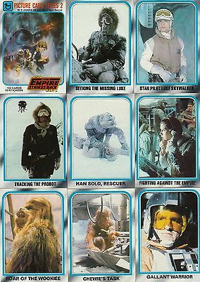 Star Wars Empire Strikes Back Series 2 - Complete Card Set (133-264) 1980 Topps