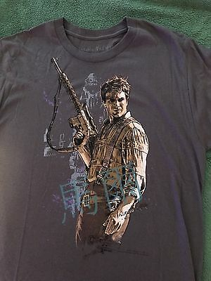 Nathan Fillion Firefly T-Shirt S NWOT