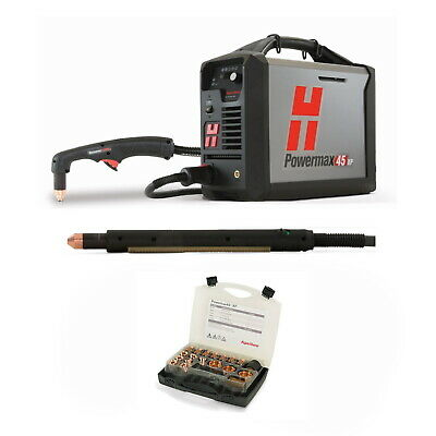 Hypertherm Powermax45 XP Plasma w/CPC 25ft Mech and Hand Torches (088123)