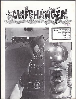 CLIFFHANGER No.13 USA SERIALS FANZINE THE BATMAN (LEWIS WILSON) KEYE LUKE