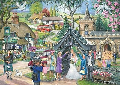 House Of Puzzles Wedding Day - Find the Difference No 4 Jigsaw Puzzle