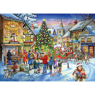 House Of Puzzles Christmas Shopping - 500 Piece Jigsaw Puzzle