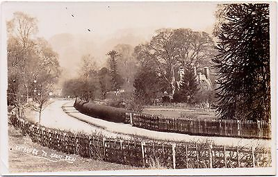 R.P.  Vintage Postcard  Entrance To Great Tew Chipping Norton Oxfordshire Estate