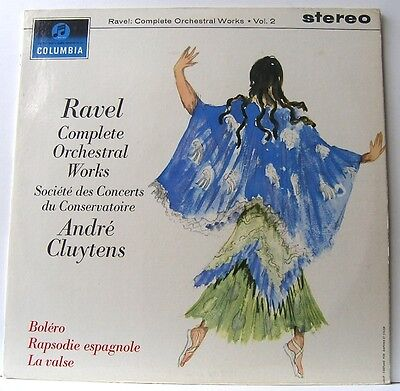 Ravel Complete Works Volume 2 André Cluytens Columbia SAX 2577