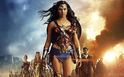 New Wonder Woman Movie Poster A4 Print version 17