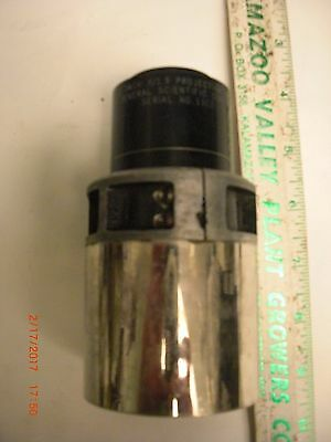 Projection Lens 2 1/4 inch f/1.9 General Scientific Corp Serial # 1102