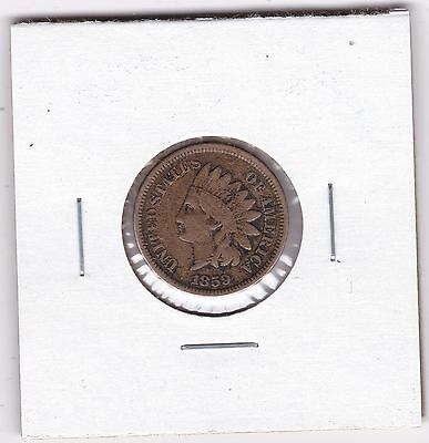 1859 Indian Head Cent,  Nice details Free Shipping