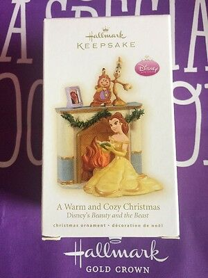 Hallmark 2009 A Warm And Cozy Christmas Disney Beauty And The Beast Mib