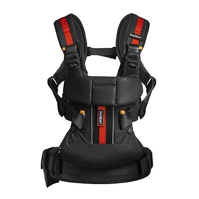 Baby Bjorn One Outdoor Baby Carrier 4 Carrying Positions In Black