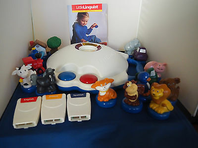 Neurosmith Little Linguist Electronic Game + French Cartridge And 15 Characters