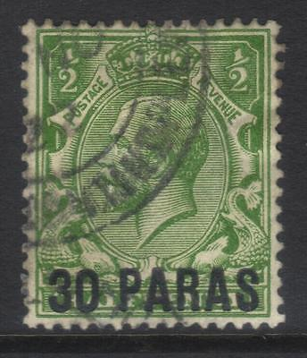 British Levant 1921 Surch Sg41 Used Cat £17