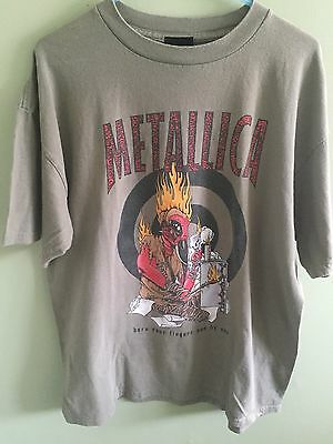 Vintage 1997 Pushead Metallica Where The Wild Things Are T Shirt XL 97 90s 80s