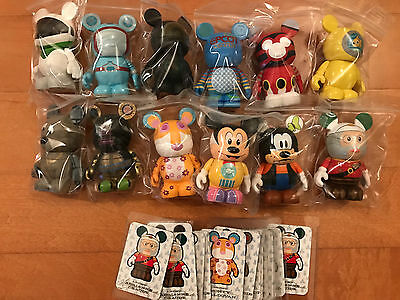 Disney Vinylmation Park 4 - Complete Set of 12 with Chaser
