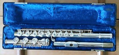 Gemeinhardt B3 Flute, Open hole with plugs, B foot, Inline G