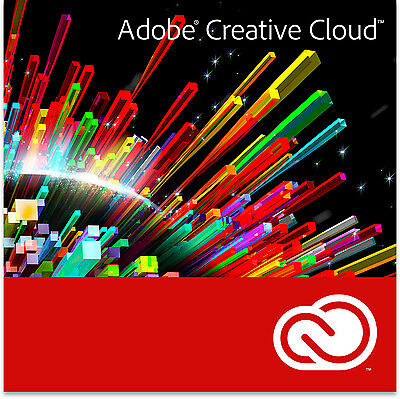 Adobe Creative Cloud 12 Month Subscription (Windows or Mac)