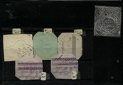 New  Zealand  lot  of revenue embossed paper          AT0612