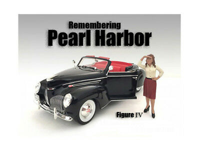 Diecast Remembering Pearl Harbor Figure IV For 1:24 Scale Models by American Dio