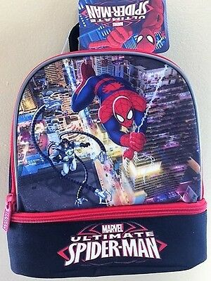 Marvel Ultimate Spider-Man lunch box with Tags ( Original ).