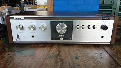 Sony Ta-1010 Integrated Stereo Amplifier Separate (501)