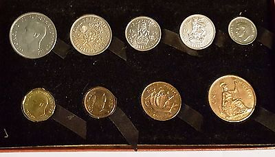 1950 Royal Mint King George VI Mint Proof Coin Set
