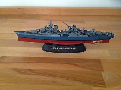 Gearbox Military Classics WWII USS.Indianapolis CA-35 1945, 1-700 Scale Diecast