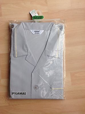 Vintage 1960's UNUSED NEW St Michael Mens Pyjamas Unopened With Tags Size XL