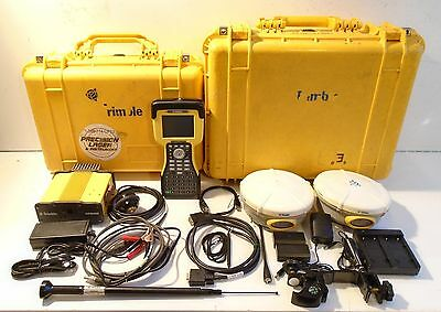 Trimble 5800/5800/HPB450/TSC2 L1/L2 RTK GPS Receivers, Complete Package.